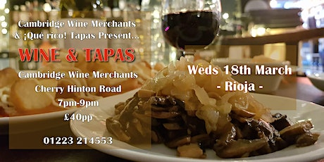 Wine and Tapas Tasting: La Rioja (CH) tickets