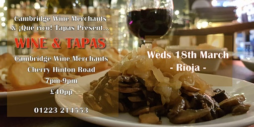 Wine and Tapas Tasting: La Rioja (CH)