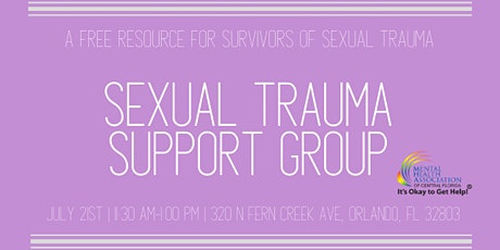 Sexual Trauma Support Group tickets