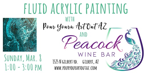 Ladies' Night Paint With Me at Peacock Wine Bar!