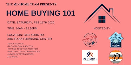 February: Home Buying 101 tickets