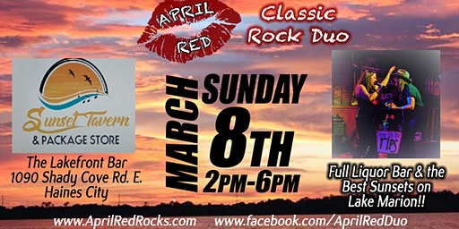 April Red ROCKS the Sunset Tavern in Haines City!