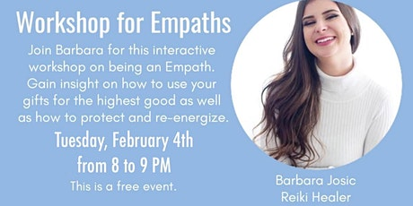 FREE Workshop for Empaths tickets