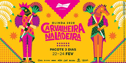 Carvalheira Na Ladeira 2020 - Pacote  3 dias (sab, dom e  seg)