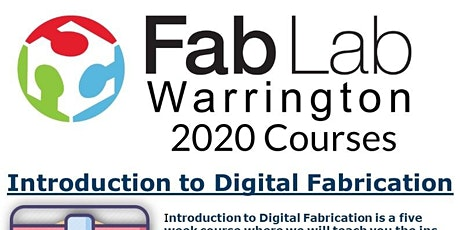 Introduction into Digital fabrication tickets
