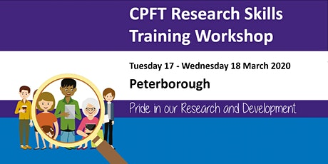 CPFT Research Skills Training: Two Day Workshop tickets