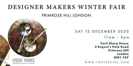 DESIGNER MAKERS FAIR WINTER PRIMROSE HILL LONDON tickets