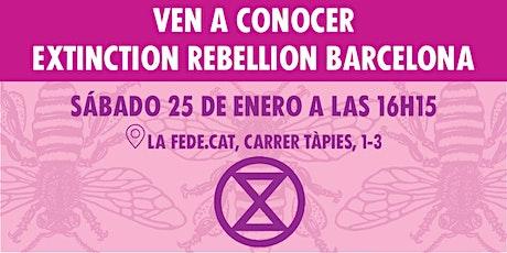 XR Barcelona  Reunión de Bienvenida [Español/Català] entradas