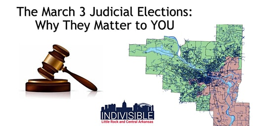 March 3 Judicial Elections -- Why They're Important to YOU