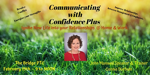 Communicate with Confidence Plus * seminar