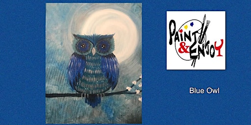 """Paint and Enjoy at Allegro Wine Bar """"Blue Owl"""""""