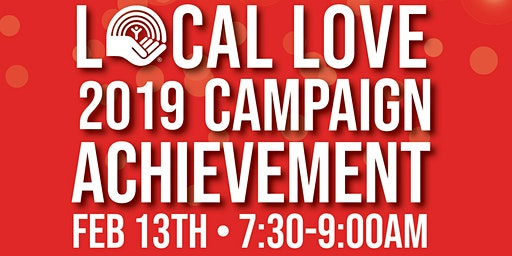 Local Love 2019 Campaign  Achievement Celebration