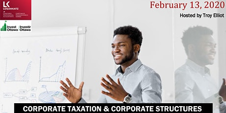 Corporate Taxation and Corporate Structures tickets