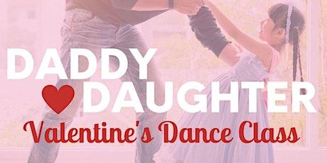 Daddy & Daughter Valentine's Dance Class Event tickets