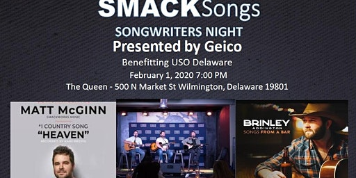 SmackSongs Songwriters Night