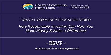How Responsible Investing can help you Make Money & Make a Difference tickets