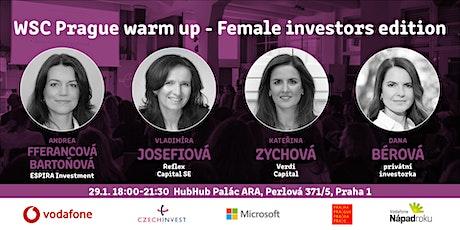 WSC Prague warm up: Female investors edition tickets