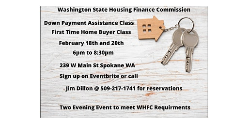 Washington State Down Payment Assistance Class
