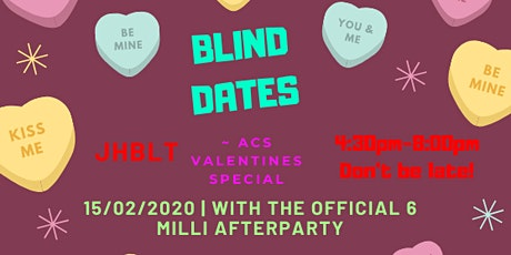 ACS Blind Dates - Valentines Special tickets