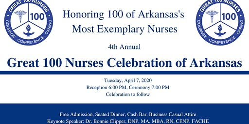 Great 100 Nurses Celebration of Arkansas