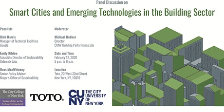 Smart cities and Emerging Technologies in the Building Sector tickets