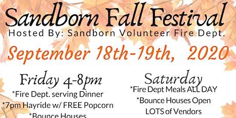 Sandborn Community Fall Festival tickets
