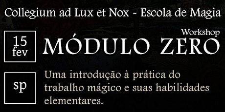 [SP] CURSO DE LVX: MÓDULO ZERO ingressos