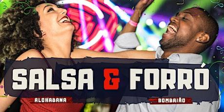 Baile Salsa & Forró | Alohabana & Bombaião ingressos