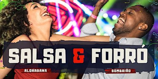 Baile Salsa & Forró | Alohabana & Bombaião