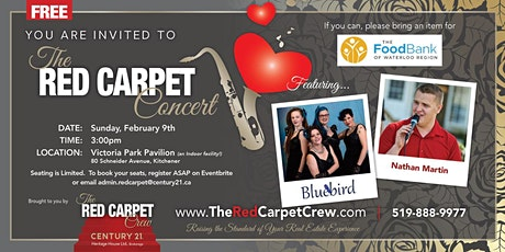The Red Carpet Concert tickets