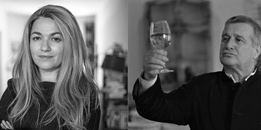 Poëzie en gastronomie: Mircea Dinescu en Mira Feticu