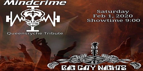 Mindcrime (Queensryche tb) Big City Nights (Scorpions tb) tickets