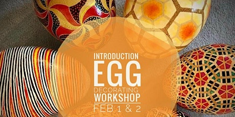 Intro to Wax-Resist Egg Decorating 2-Day Workshop with Wendy Ng tickets