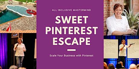 Sweet Pinterest Escape tickets