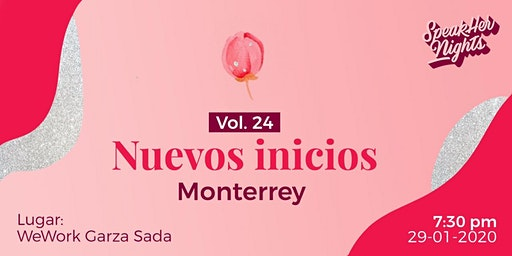 Speakher Nights vol. 24:  Nuevos Inicios
