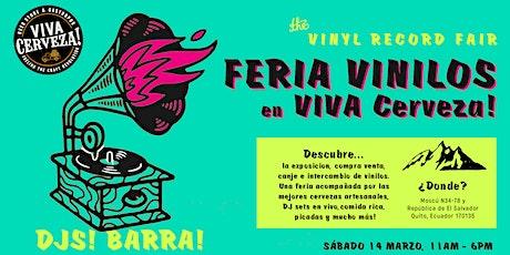 4ta Feria de Vinilos en VIVA Cerveza! (VINYL RECORD FAIR) entradas