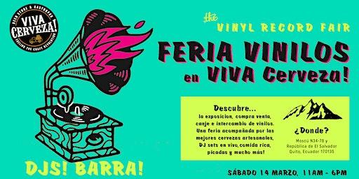 4ta Feria de Vinilos en VIVA Cerveza! (VINYL RECORD FAIR)