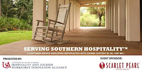 Serving Southern Hospitality™ Certification tickets