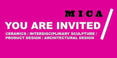 CERAMICS, SCULPTURE, PRODUCT DESIGN & ARCHITECTURAL DESIGN PREVIEW DAY tickets