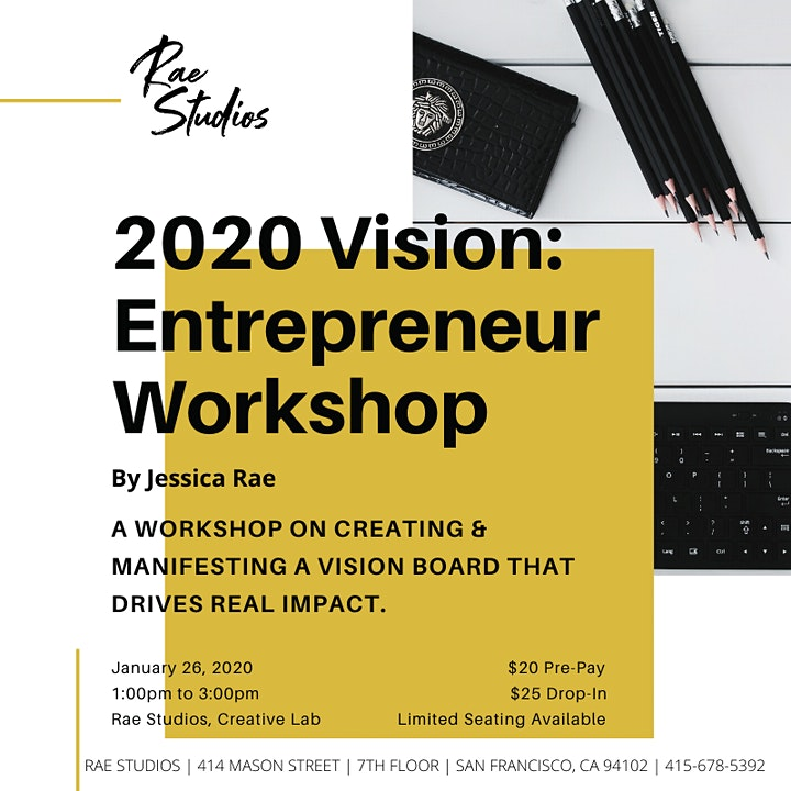 2020 Vision: Entrepreneur Workshop image