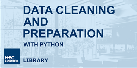 Data cleaning and preparation with Python billets