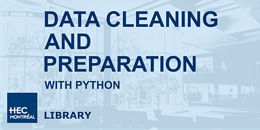 Data cleaning and preparation with Python