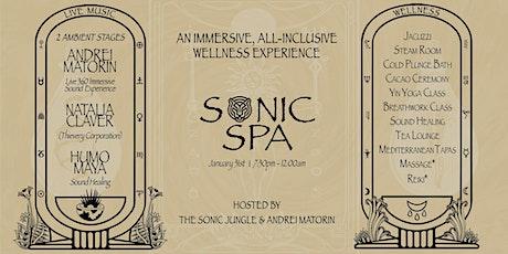 Sonic Spa Night: Sonic Jungle & Andrei Matorin tickets