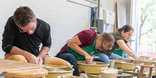 Adult Session 2: Intermediate & Senior Pottery - TUES AM