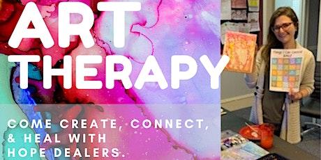 Free Art Class - Healing with Hopedealers tickets