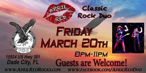 April Red is Back to ROCK The Dade City Eagles 4399!