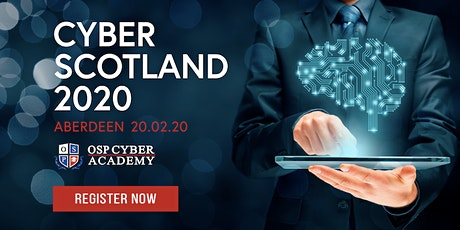Cyber Scotland 2020  tickets