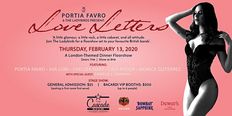 The Ladybirds present Love Letters tickets
