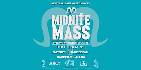 #MidniteMass - FRI JANUARY 31 tickets