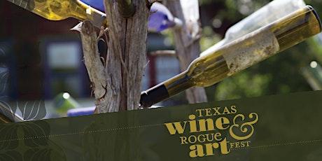 Texas Wine & Rogue Art Fest 2020 tickets